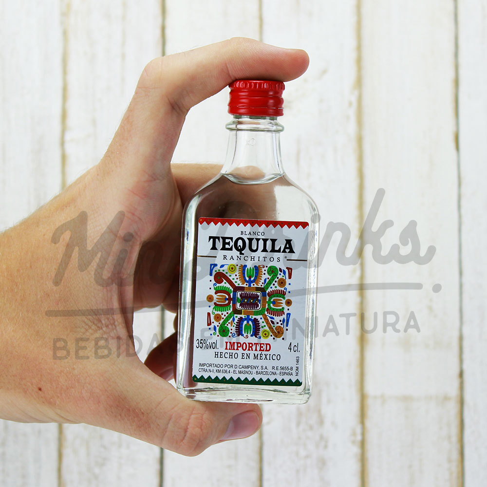 Mini Tequila Ranchitos Silver 50ml