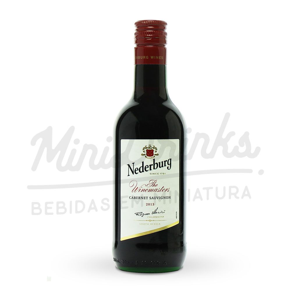 Mini Vinho Nederburg Winemasters Cabernet Sauvignon 250ml