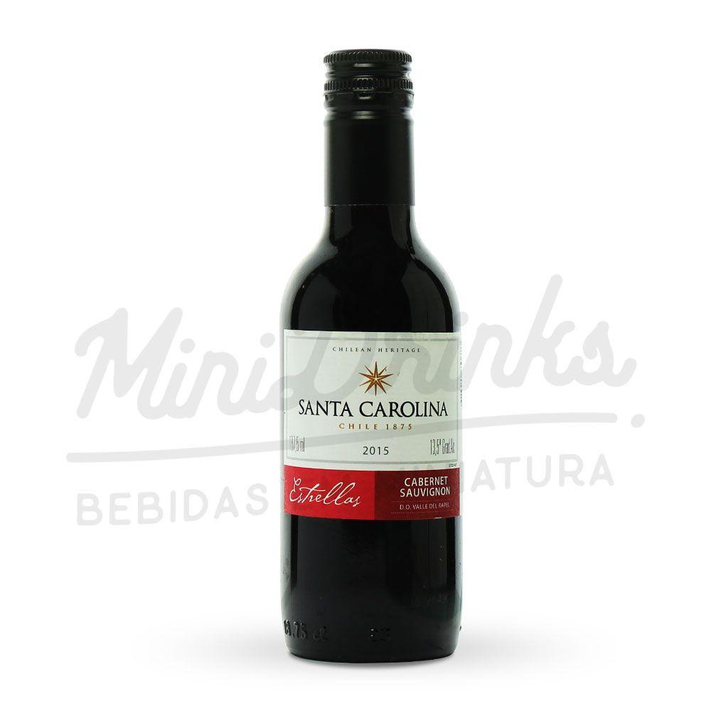 Mini Vinho Santa Carolina Estrellas Cabernet Sauvignon 187ml