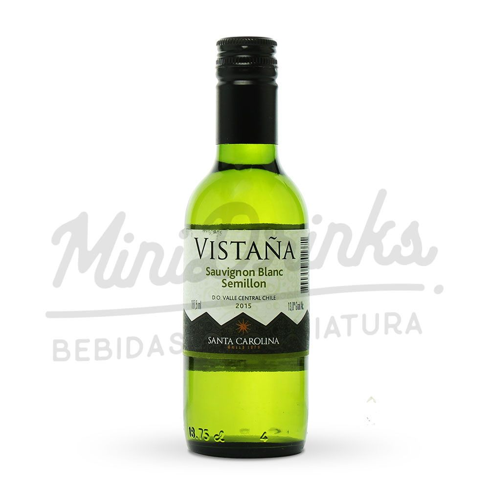 Mini Vinho Santa Carolina Vistaña Sauvignon Blanc Sémillon 187ml