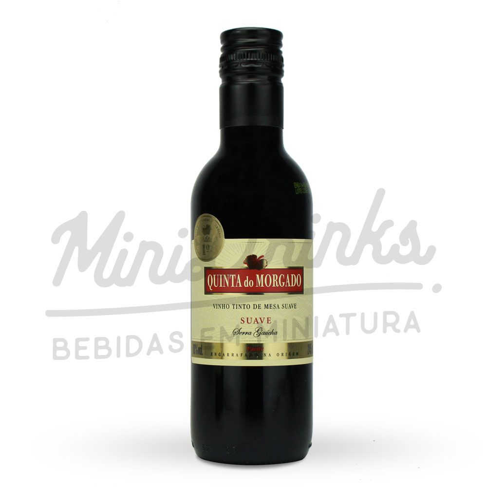 Mini Vinho Tinto de Mesa Quinta do Morgado Suave 245ml