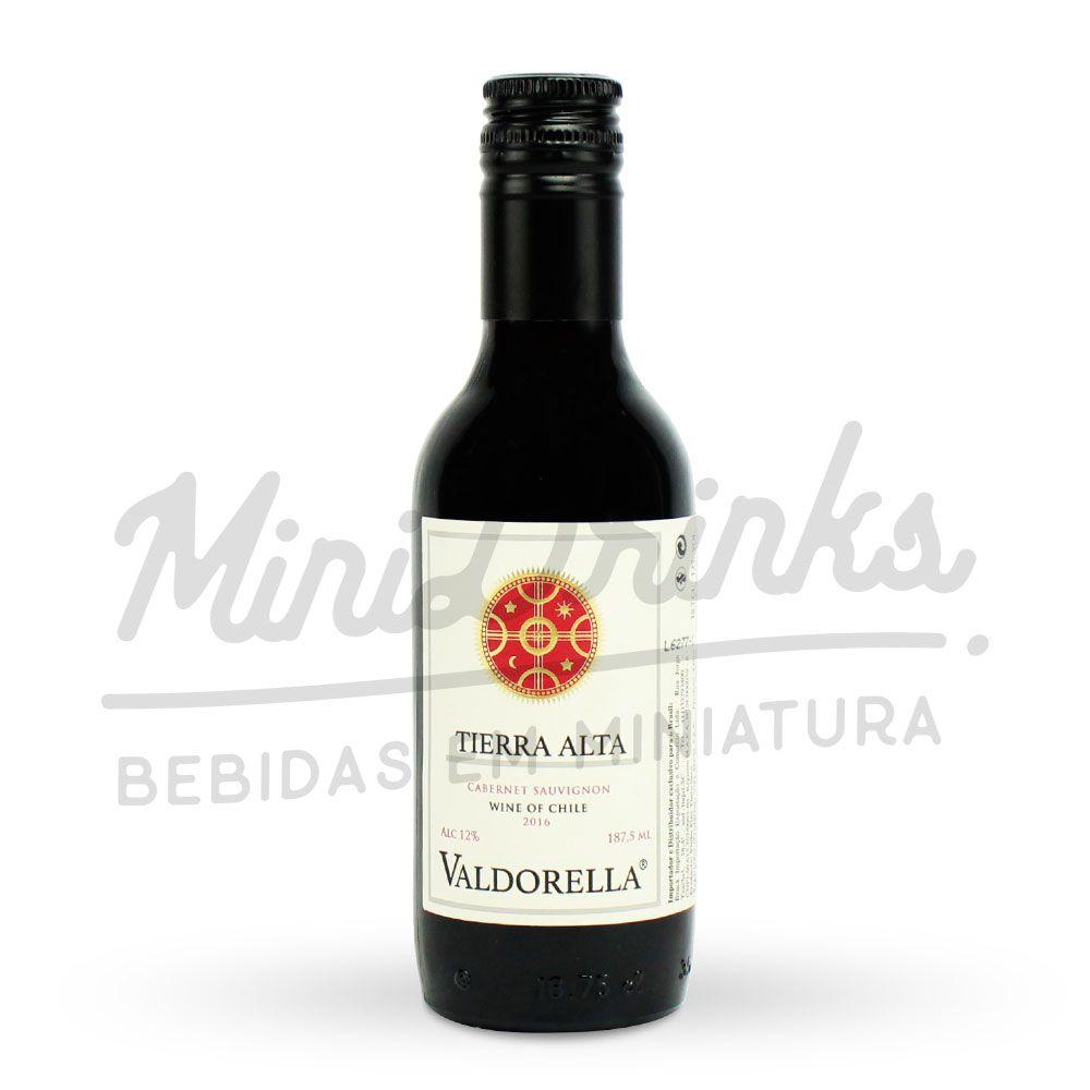 Mini Vinho Valdorella Tierra Alta Cabernet Sauvignon 187ml