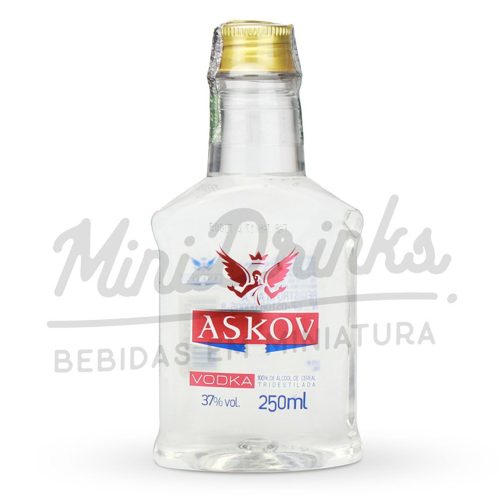 Mini Vodka Askov Petaca 250ml