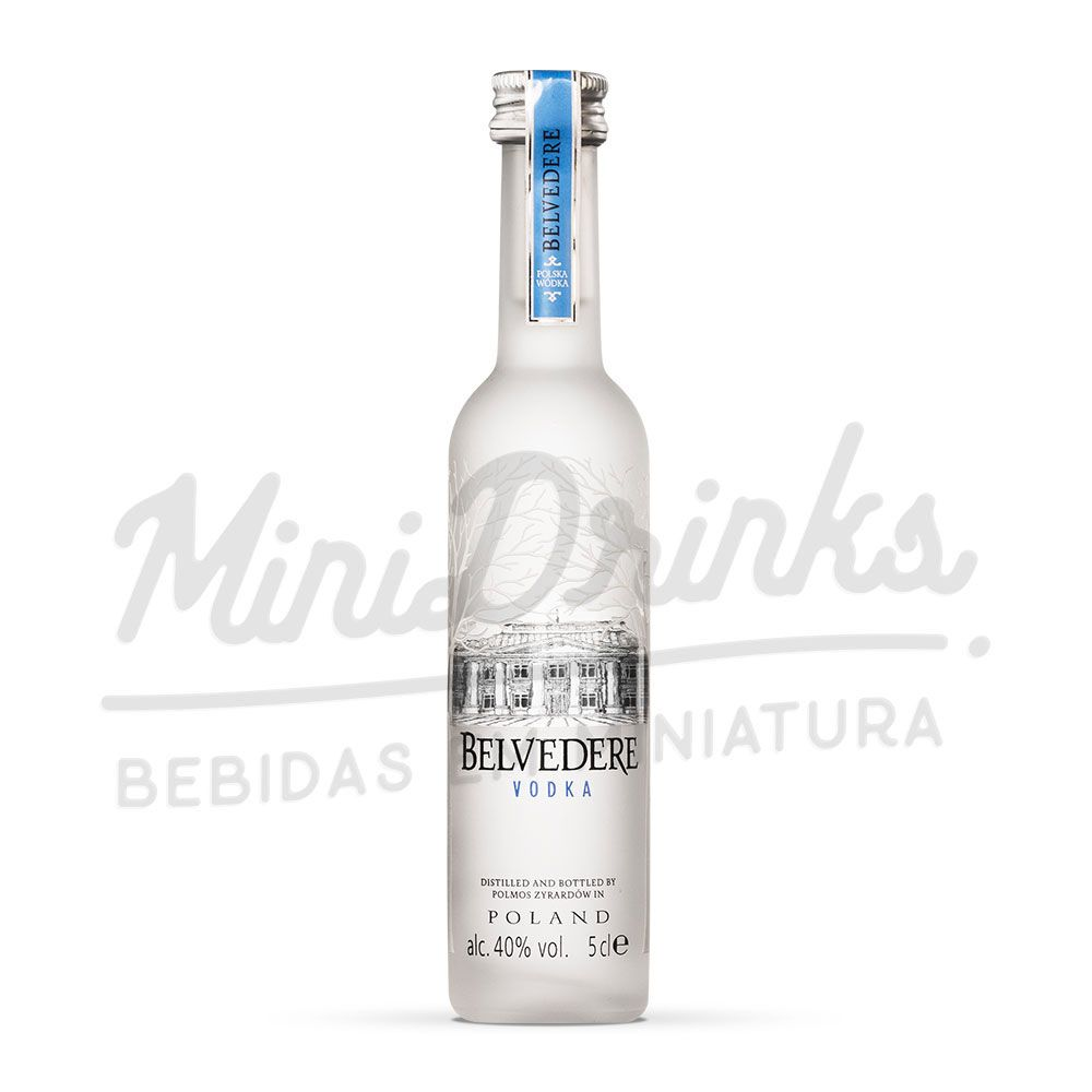 Mini Vodka Belvedere Natural 50ml