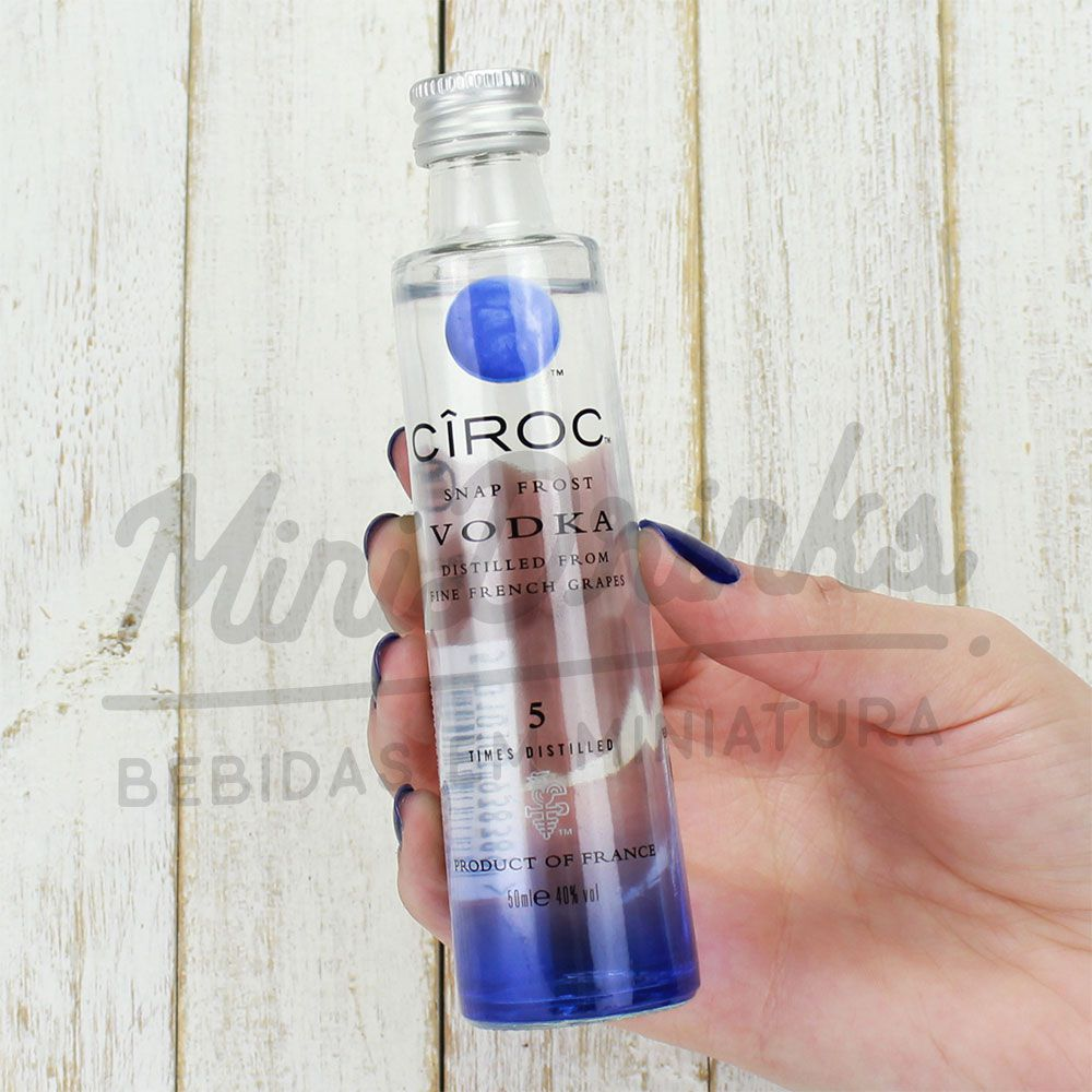 Mini Vodka Ciroc Natural 50ml