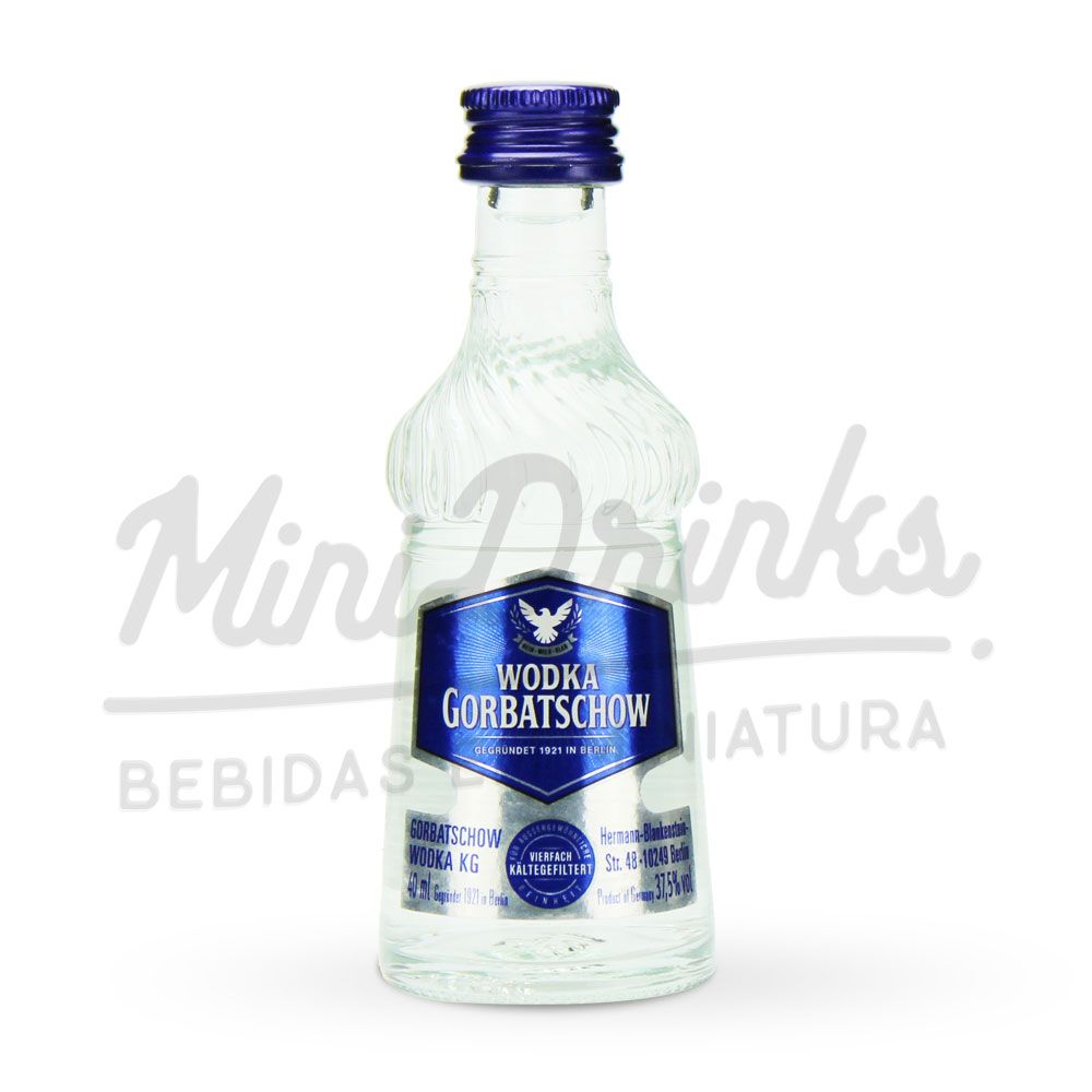 Mini Vodka Gorbatschow 50ml