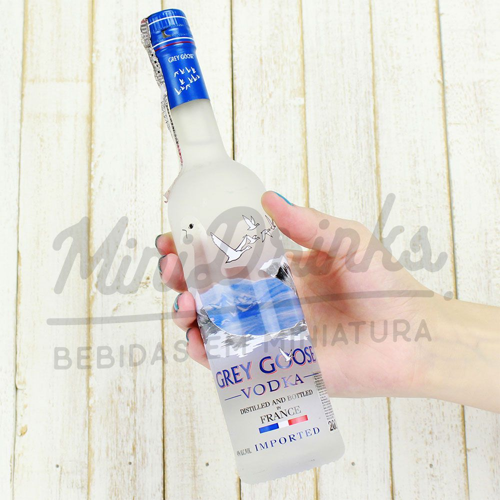 Mini Vodka Grey Goose Natural 200ml