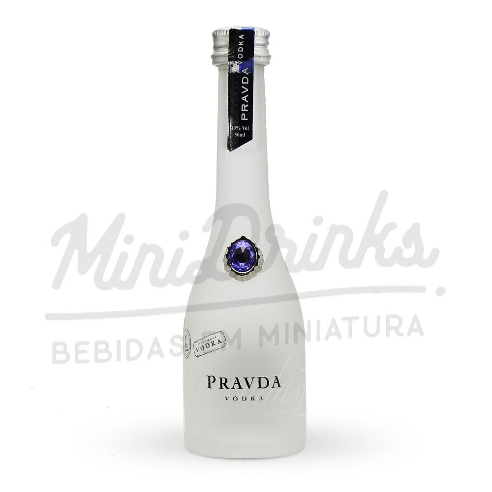 Mini Vodka Pravda Natural 50ml
