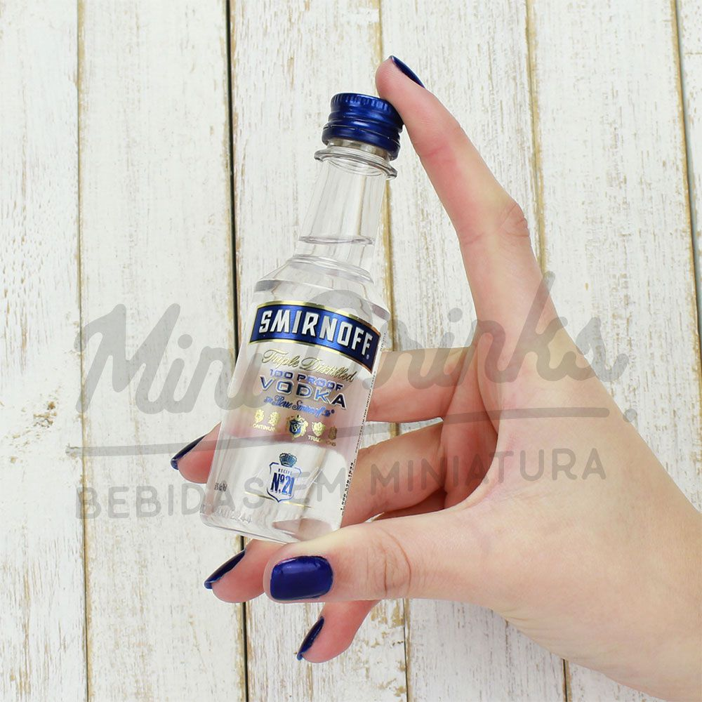 Mini Vodka Smirnoff 100 Proof 50ml