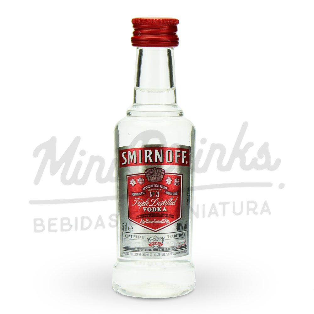 Mini Vodka Smirnoff Red 50ml