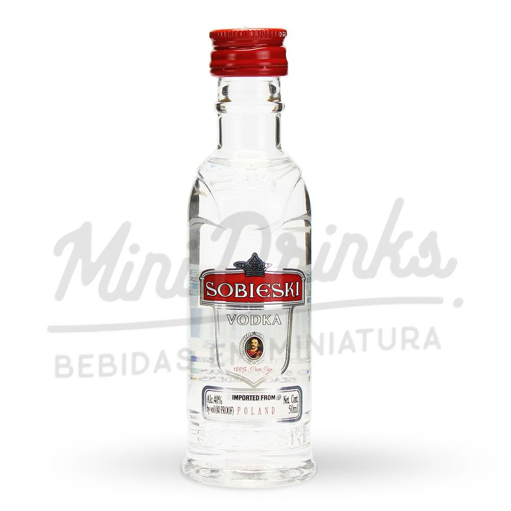 Mini Vodka Sobieski 50ml