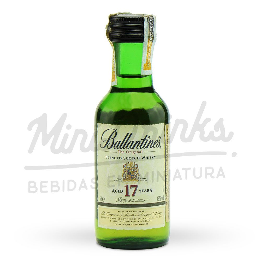 Mini Whisky Ballantines 17 Anos 50ml