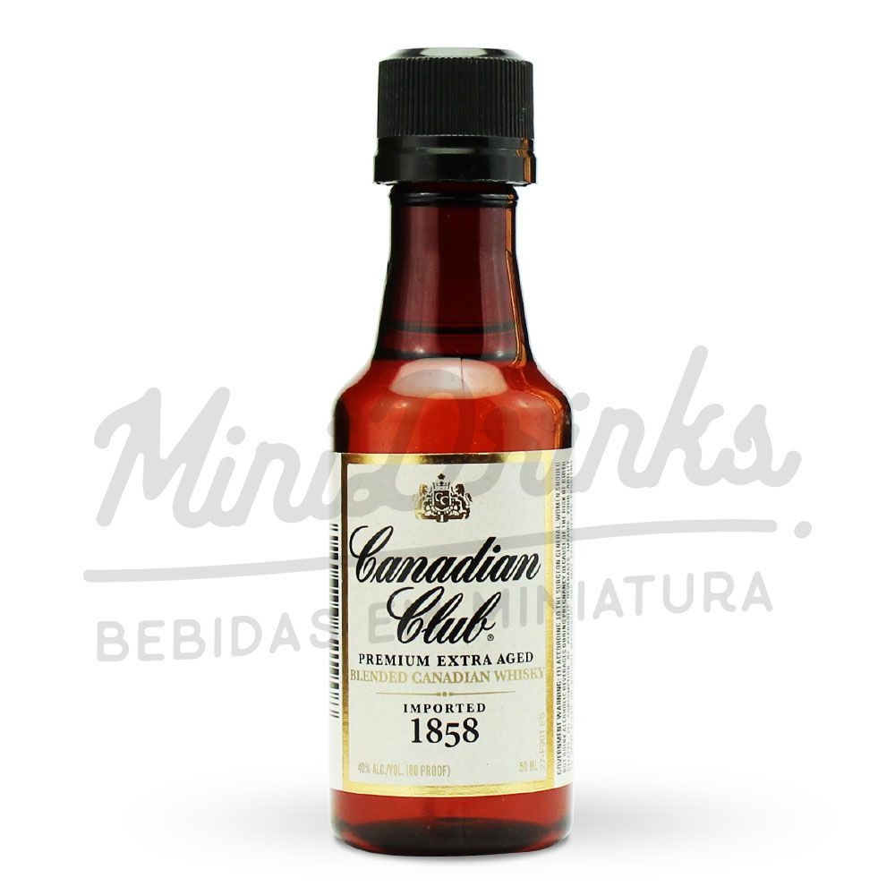 Mini Whisky Canadian Club Premium Extra Aged 50ml