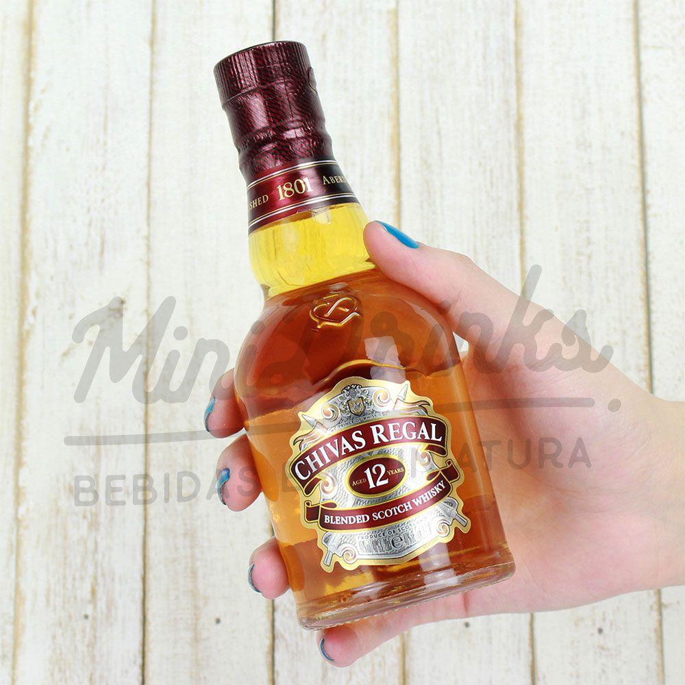 Mini Whisky Chivas 12 anos 200ml
