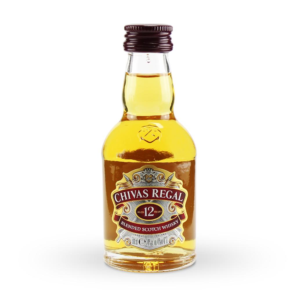 Mini Whisky Chivas 12 anos 50ml