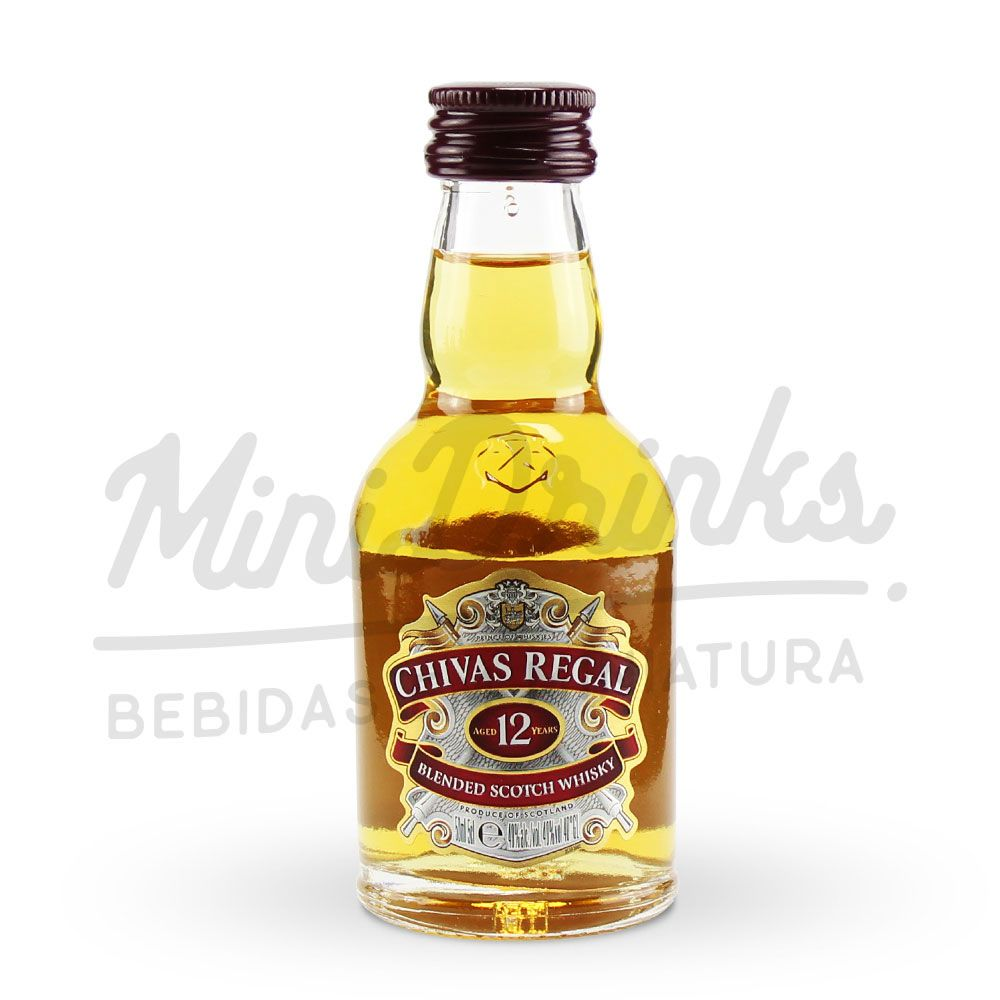 Mini Whisky Chivas 12 anos 50ml