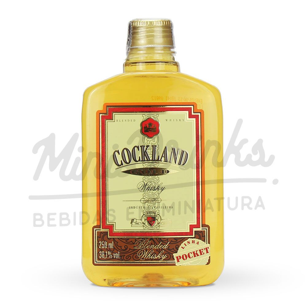 Mini Whisky Cockland Gold 250ml