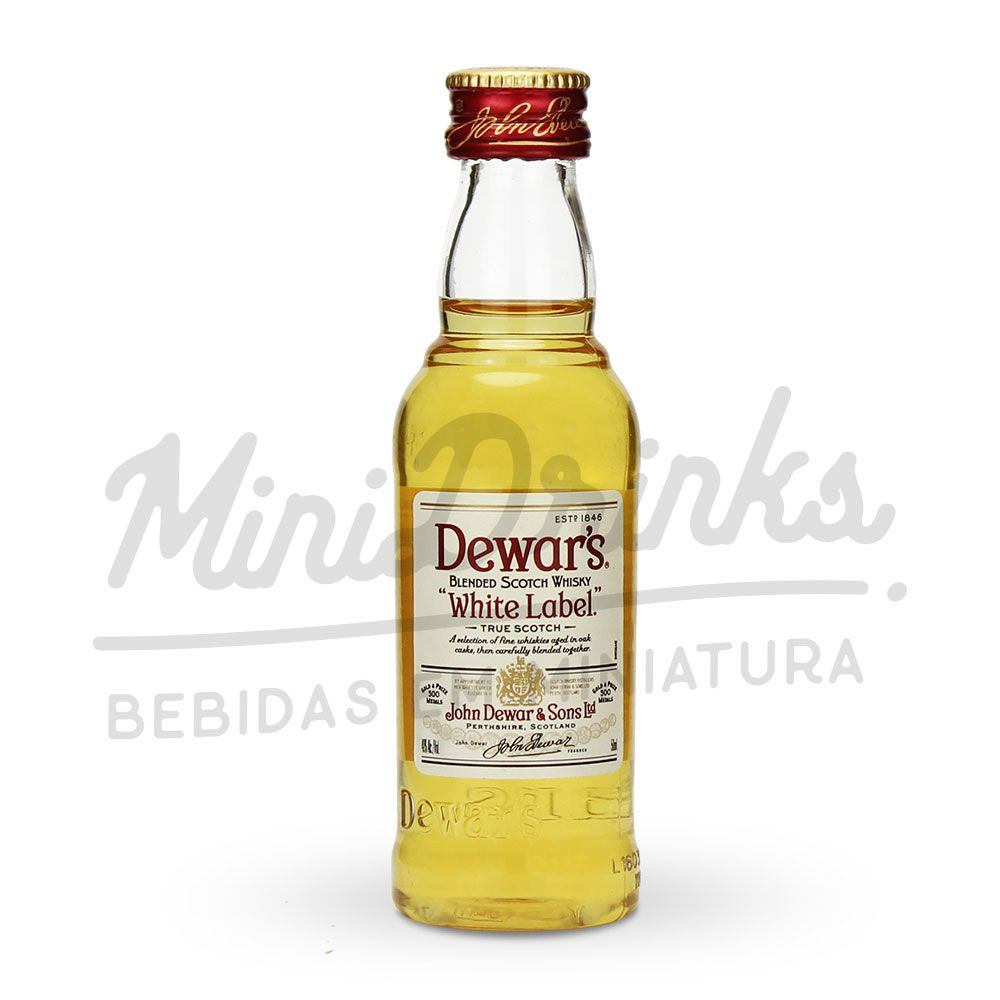Mini Whisky Dewars 50ml