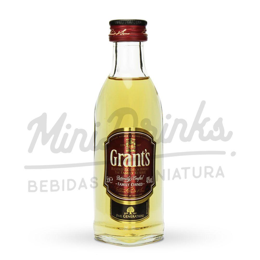 Mini Whisky Grant's 8 Anos 50ml