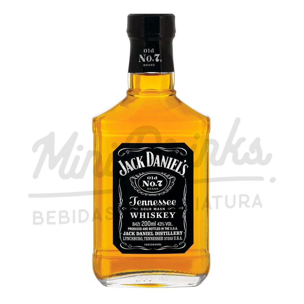 Mini Whisky Jack Daniels 200ml