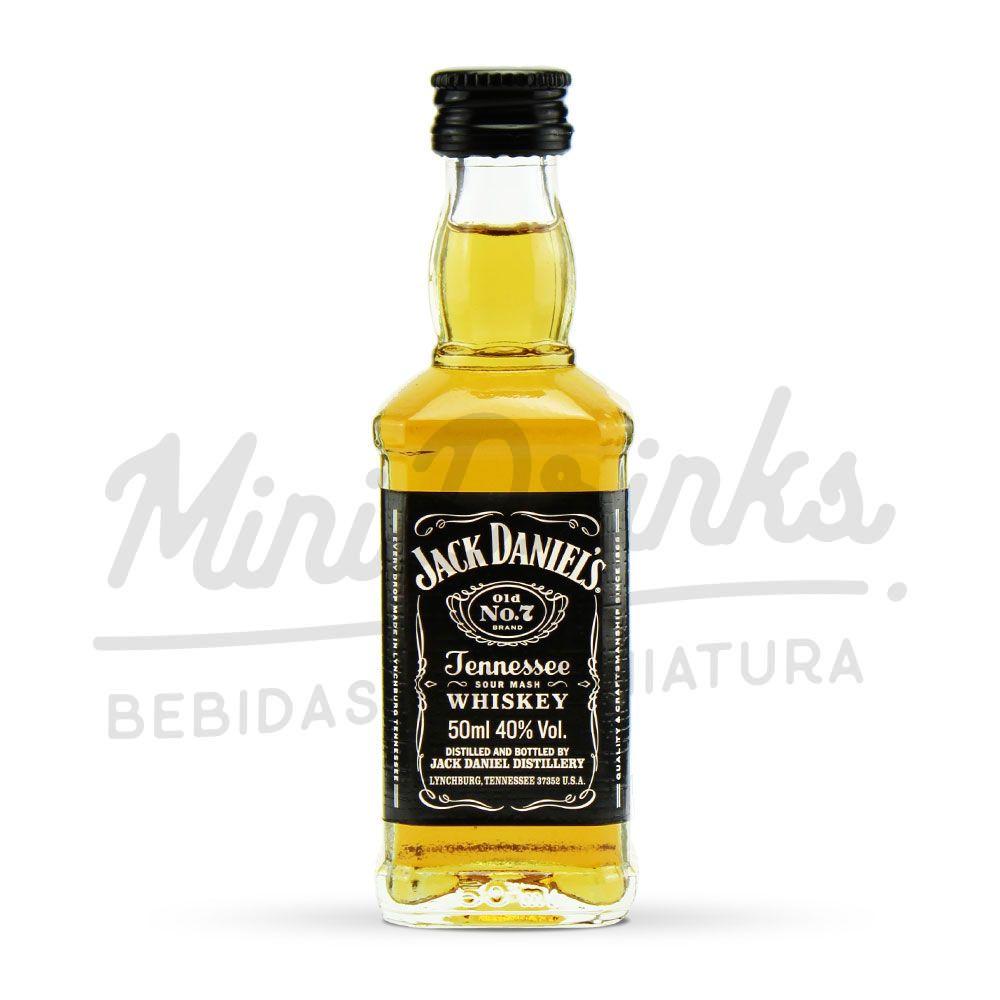 Mini Whisky Jack Daniels 50ml