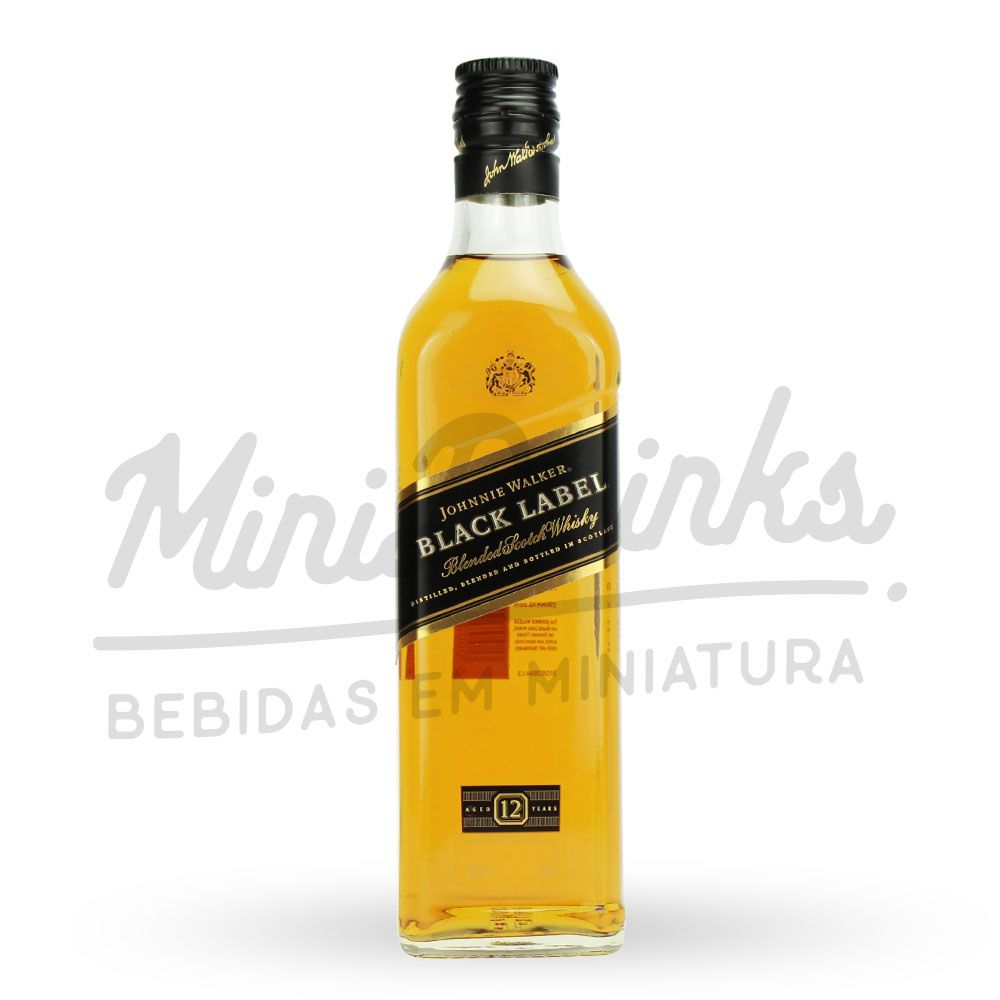Mini Whisky Johnnie Walker Black Label 200ml