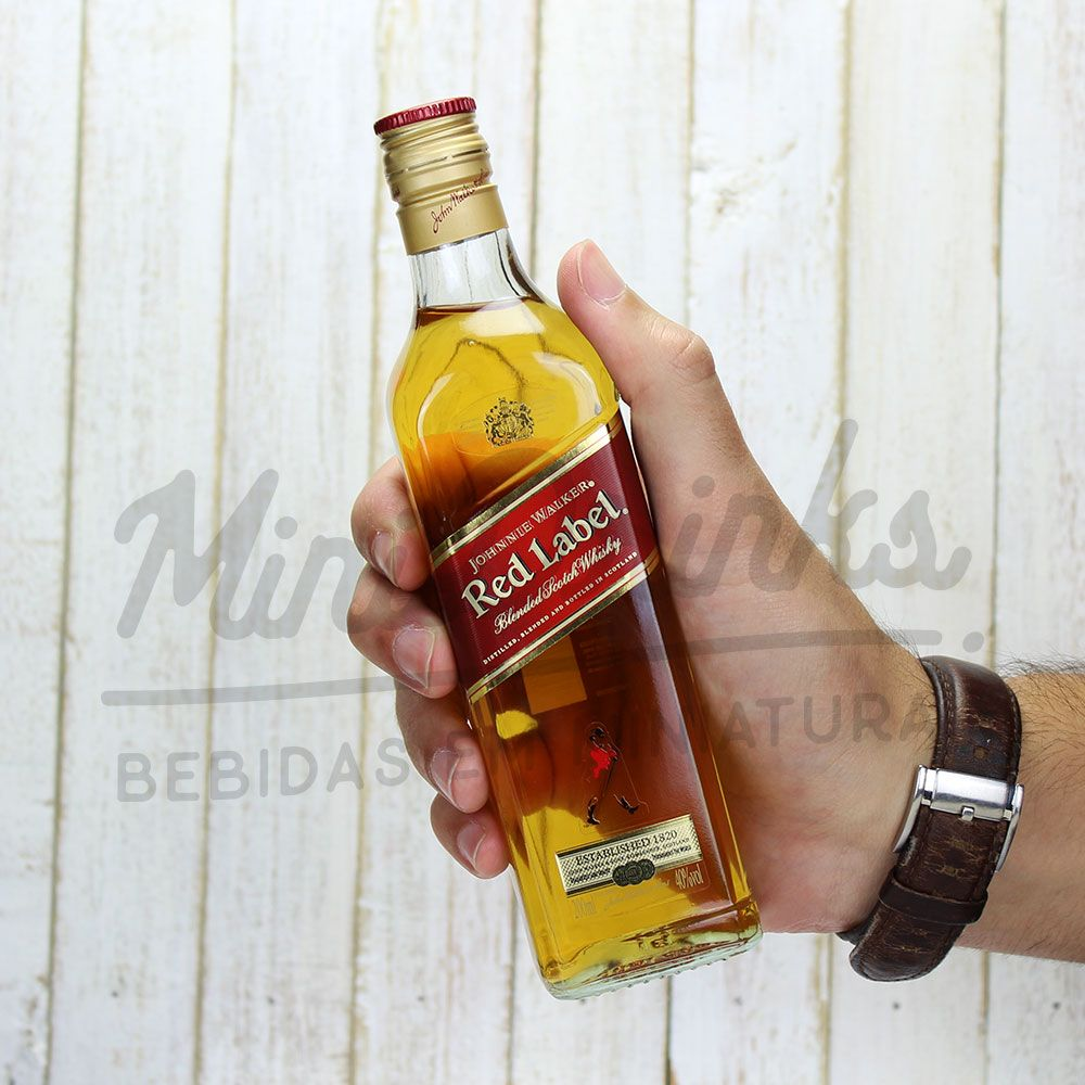 Mini Whisky Johnnie Walker Red Label 200ml
