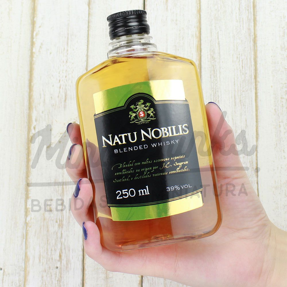 Mini Whisky Natu Nobilis 250ml