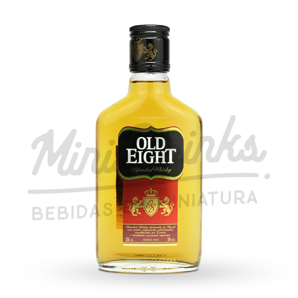 Mini Whisky Old Eight Petaca 200ml