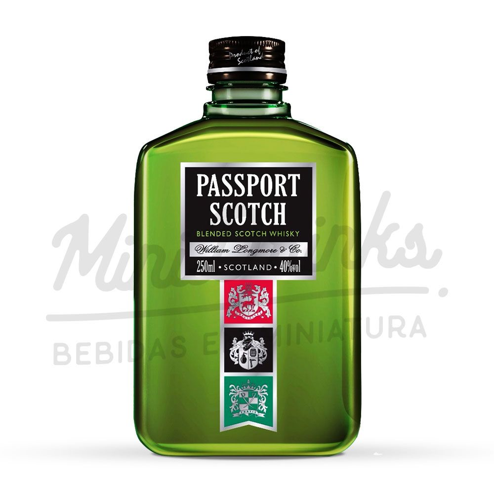 Mini Whisky Passport Scotch 250ml
