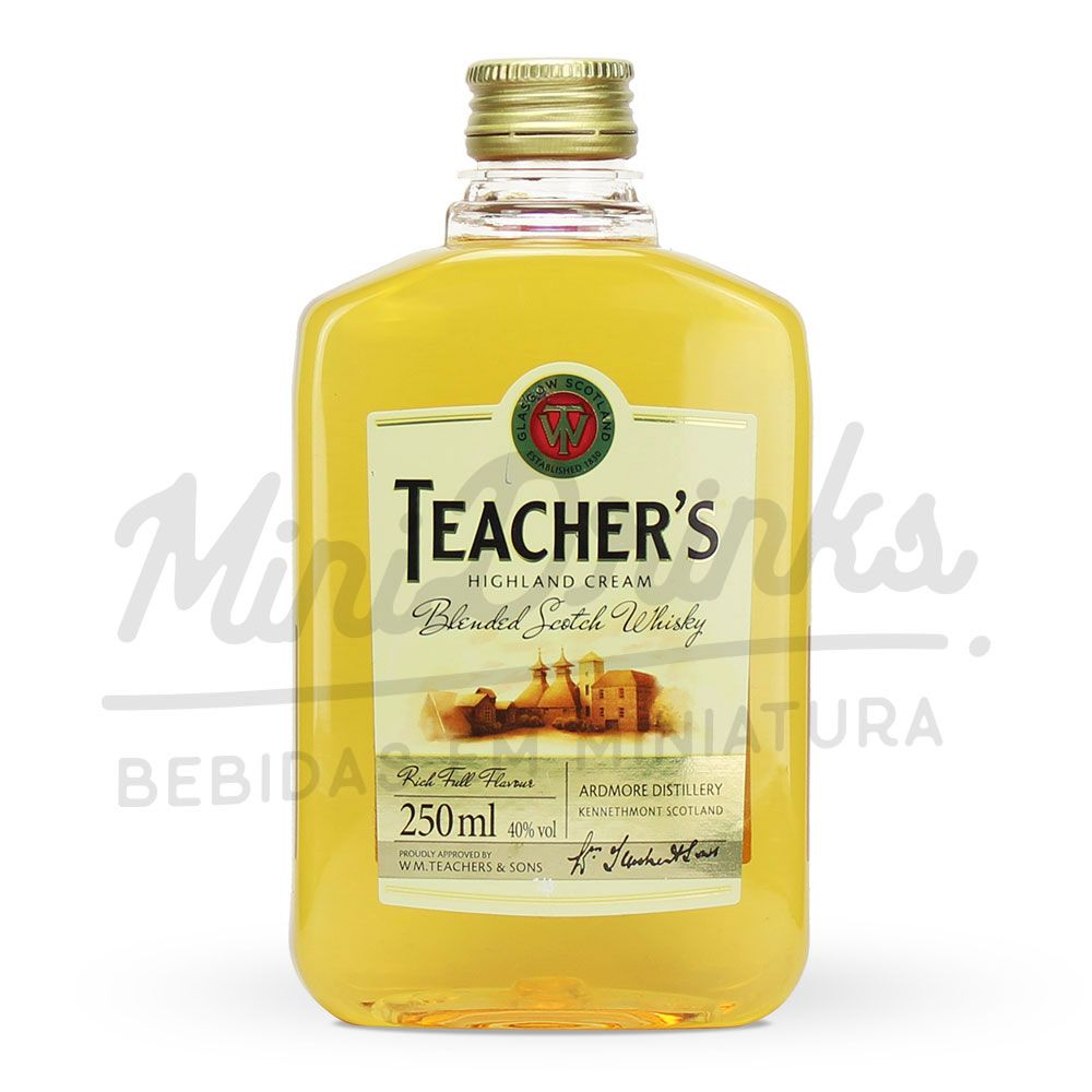 Mini Whisky Teachers Petaca 250ml