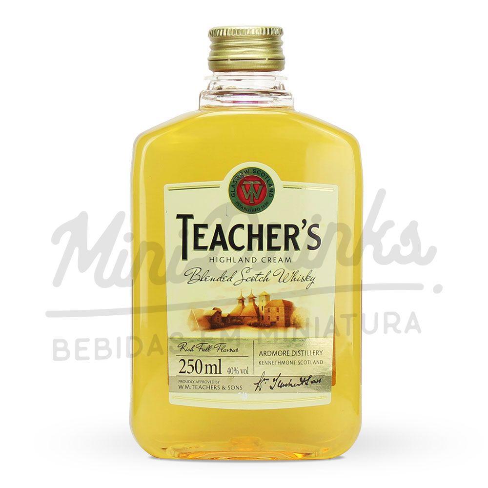Mini Whisky Teachers Petaca 250ml