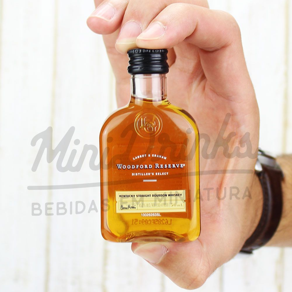 79b8fadf8f Mini Whisky Woodford Reserve 50ml Mini Whisky Woodford Reserve 50ml