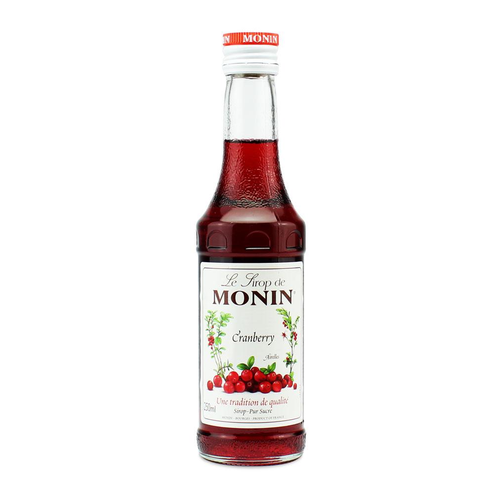 Mini Xarope Monin Cranberry 250ml
