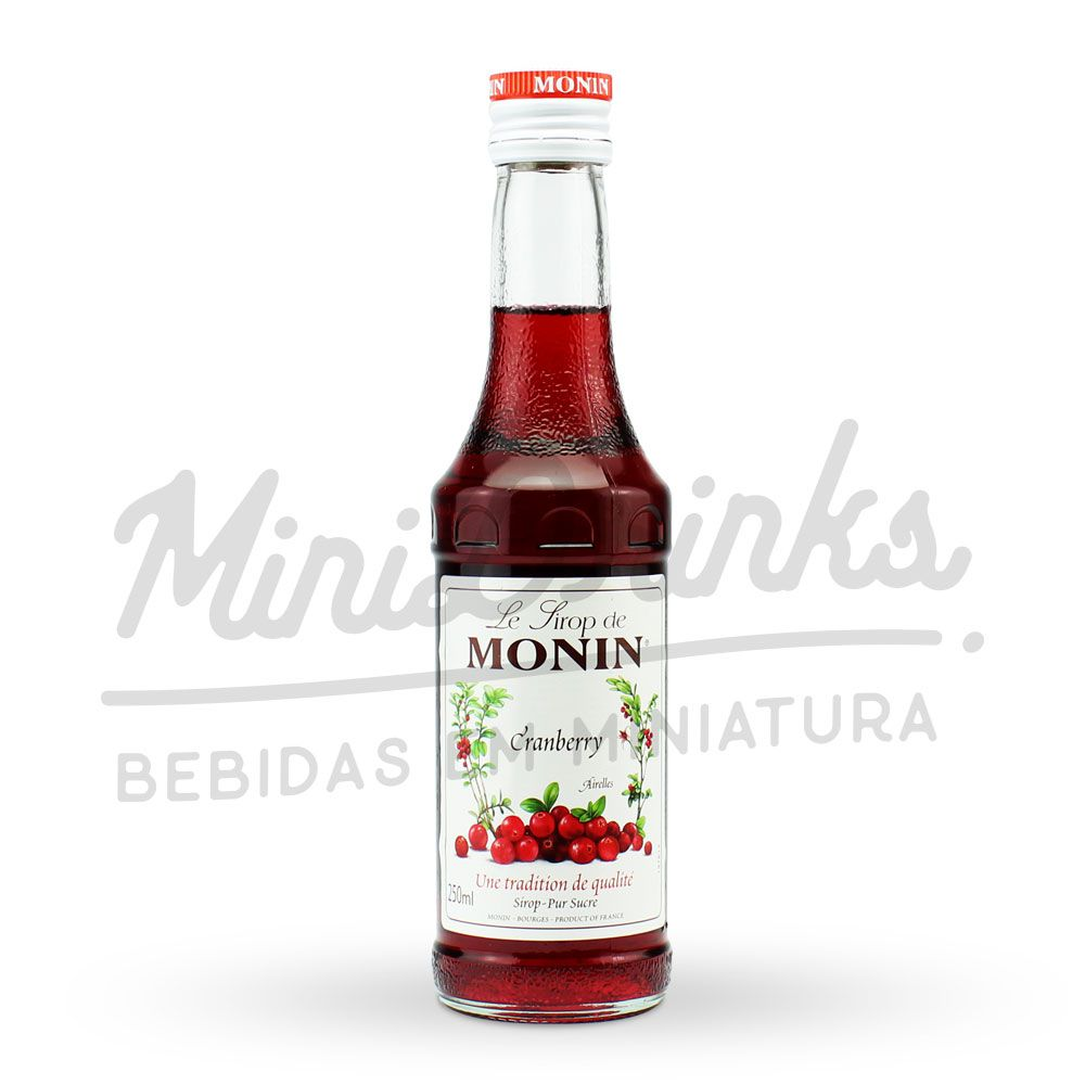Mini Xarope Monin Cranberry 250ml