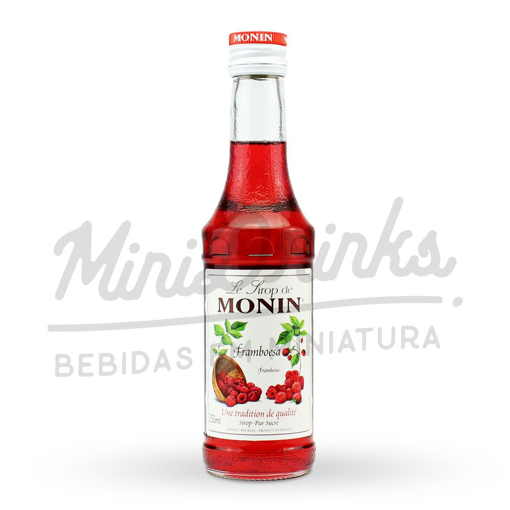 Mini Xarope Monin Framboesa 250ml