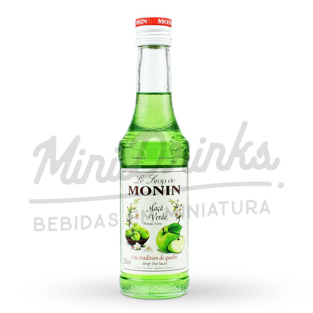 Mini Xarope Monin Maçã Verde 250ml