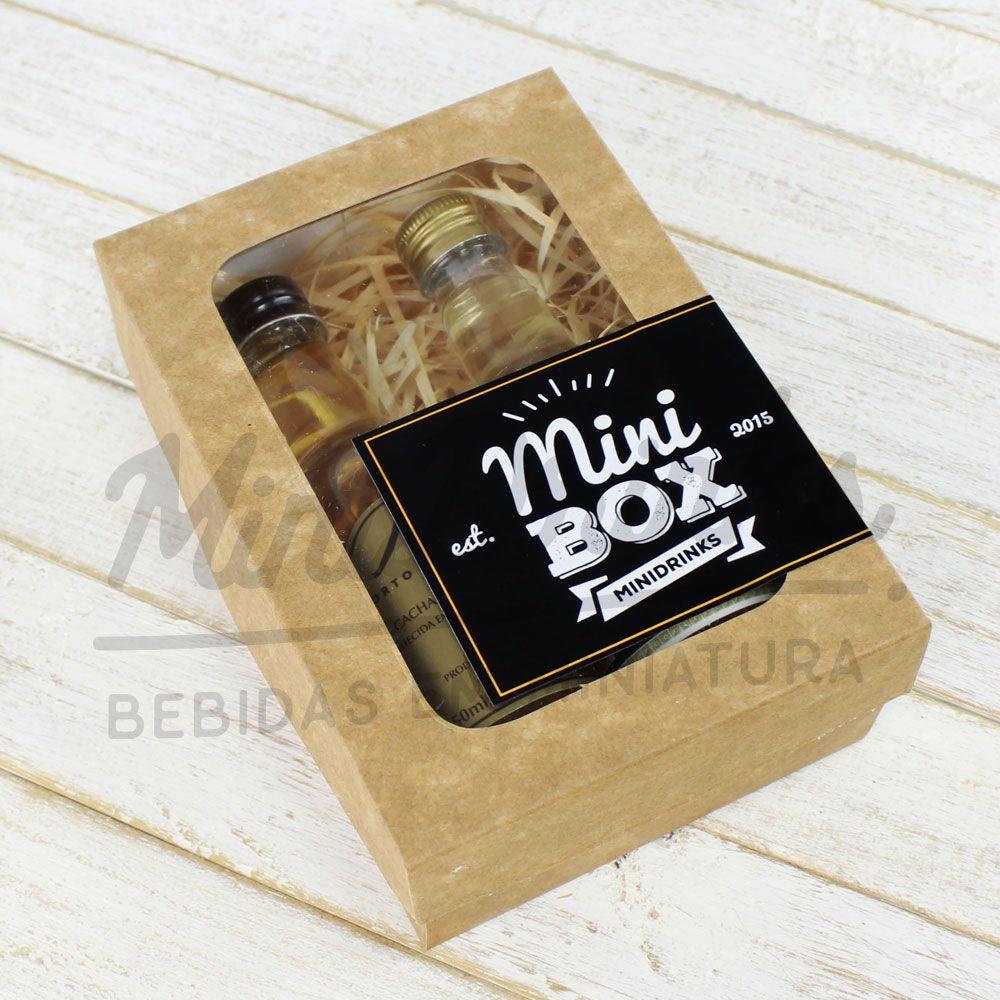 MiniBox Cachaceiro Elegante