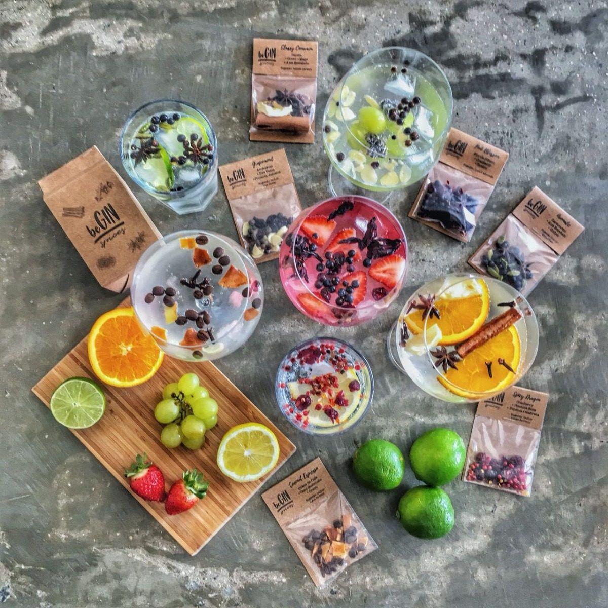 Pack 12 Un Sachês Especiarias para Gin Tônica Aromatic beGin