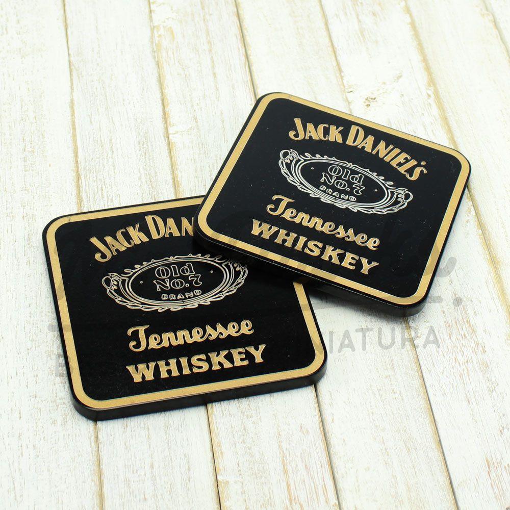 Porta Copo Jack Daniel's Quadrado