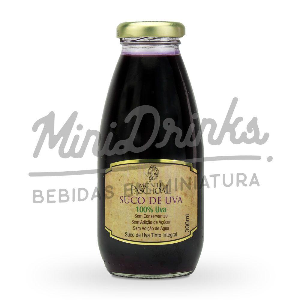 Suco de Uva Tinto Integral Monte Paschoal 300ml