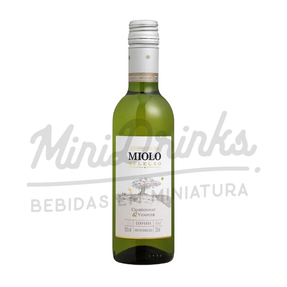 Vinho Miolo Seleção Branco Chardonnay Viognier 375ml