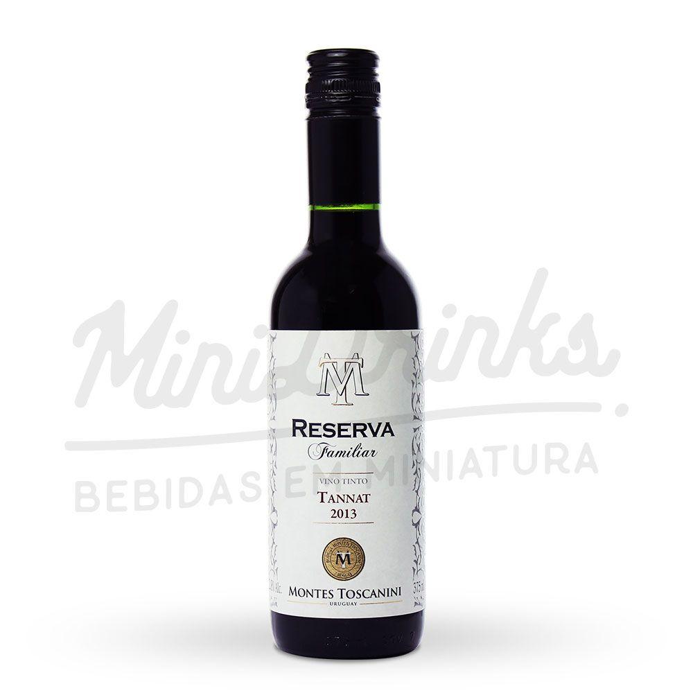 Vinho Montes Toscanini Reserva Familiar Tannat 375ml