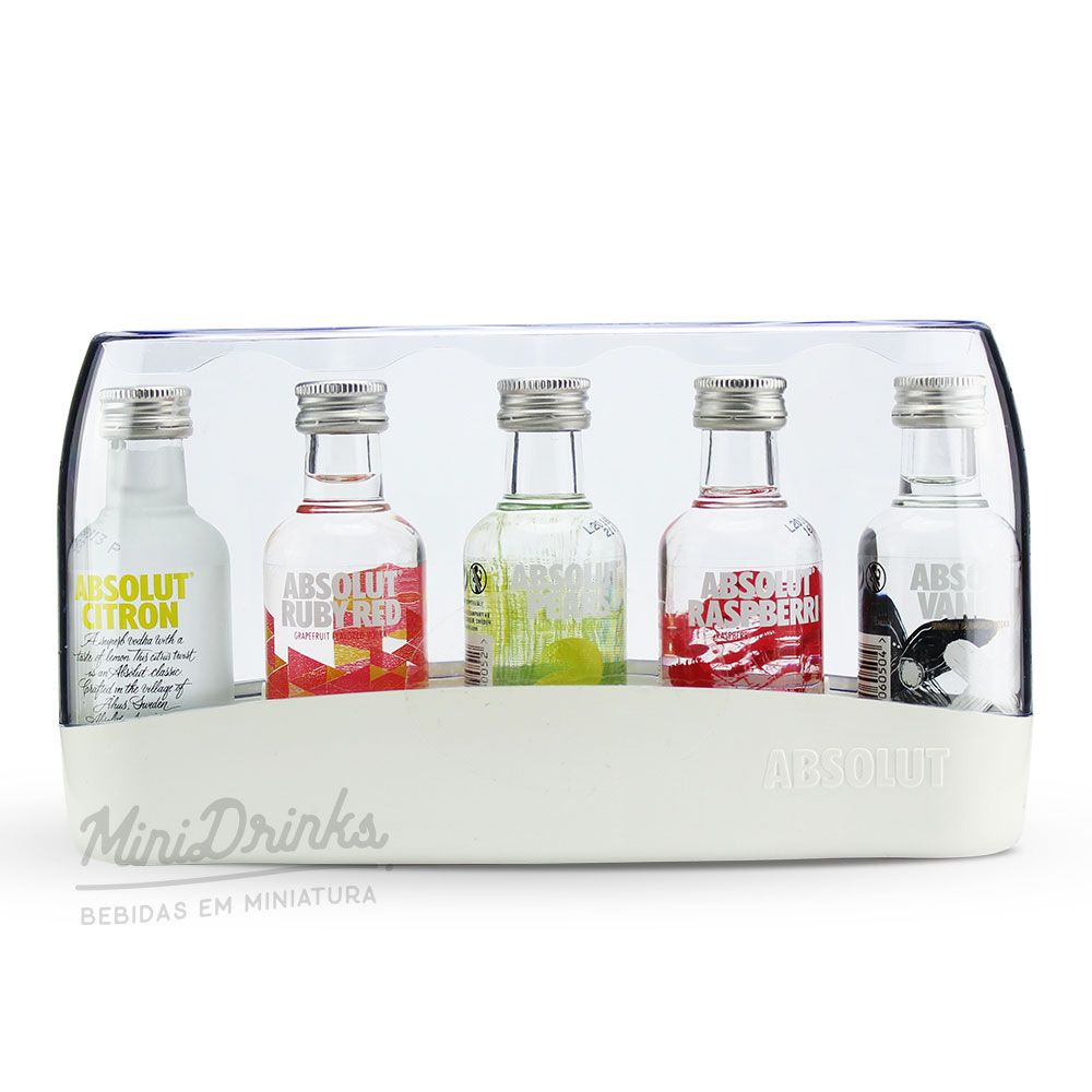 Vodka Absolut Kit 5 X 50ml