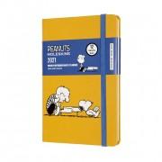 Agenda Moleskine Edição Limitada Snoopy 12 Meses, De Bolso, Capa Dura