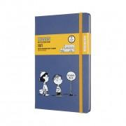 Agenda Moleskine Edição Limitada Snoopy 12 Meses, Grande, Capa Dura