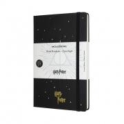 Caderno Moleskine Edição Limitada Harry Potter, Livro 7, Capa Dura, Pautado, Grande