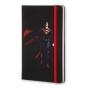 Caderno Moleskine Edição Limitada, Batman Vs Superman , Versão Superman, Capa Dura, Pautado, Grande