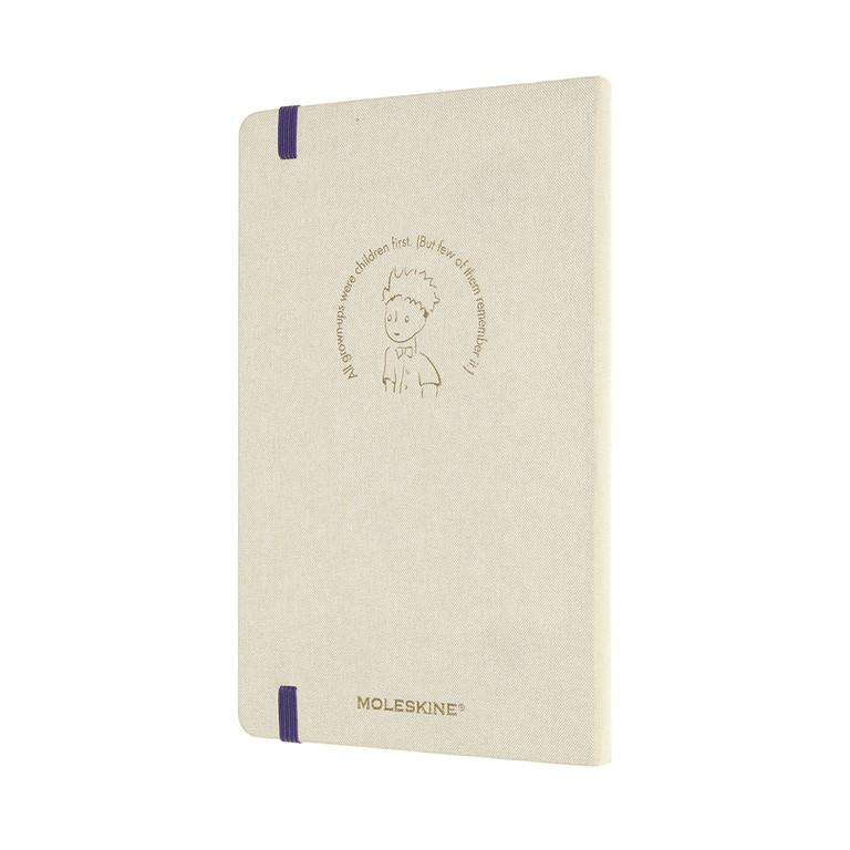 Agenda Moleskine Edição Limitada Pequeno Príncipe,12 Meses, Grande, Tecido, Capa Dura
