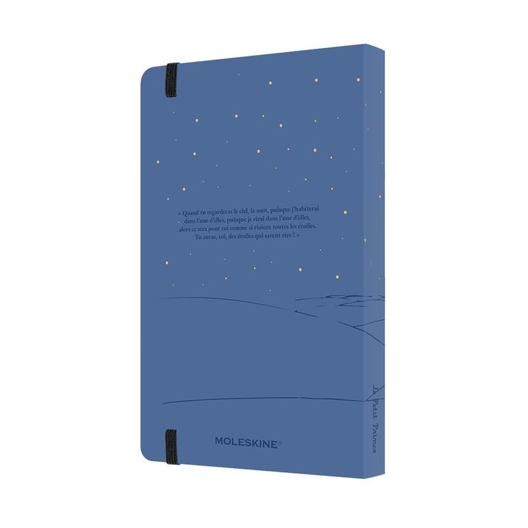 Agenda Moleskine Edição Limitada Pequeno Príncipe, Diaria 12 Meses, Grande, Capa Dura